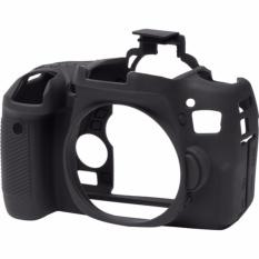 Bao Silicon bảo vệ máy ảnh Easy cover cho Canon 760D (Màu Đen)