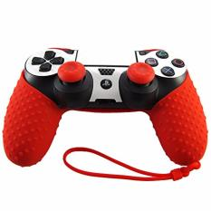 Bao silicon bảo vệ tay PS4 Silicon (Đỏ)