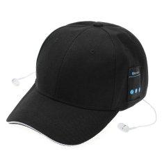 Mũ Lưỡi Trai bóng chày kiêm phát Nhạc kết nối Bluetooth (Đen) – Hàng Quốc tế