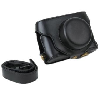Black Camera PU Leather Case Cover Bag for Fuji X100S X100 - intl