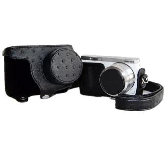 Black PU Leather Camera Case Bag for Sansung NX Mini 9-27mm - intl