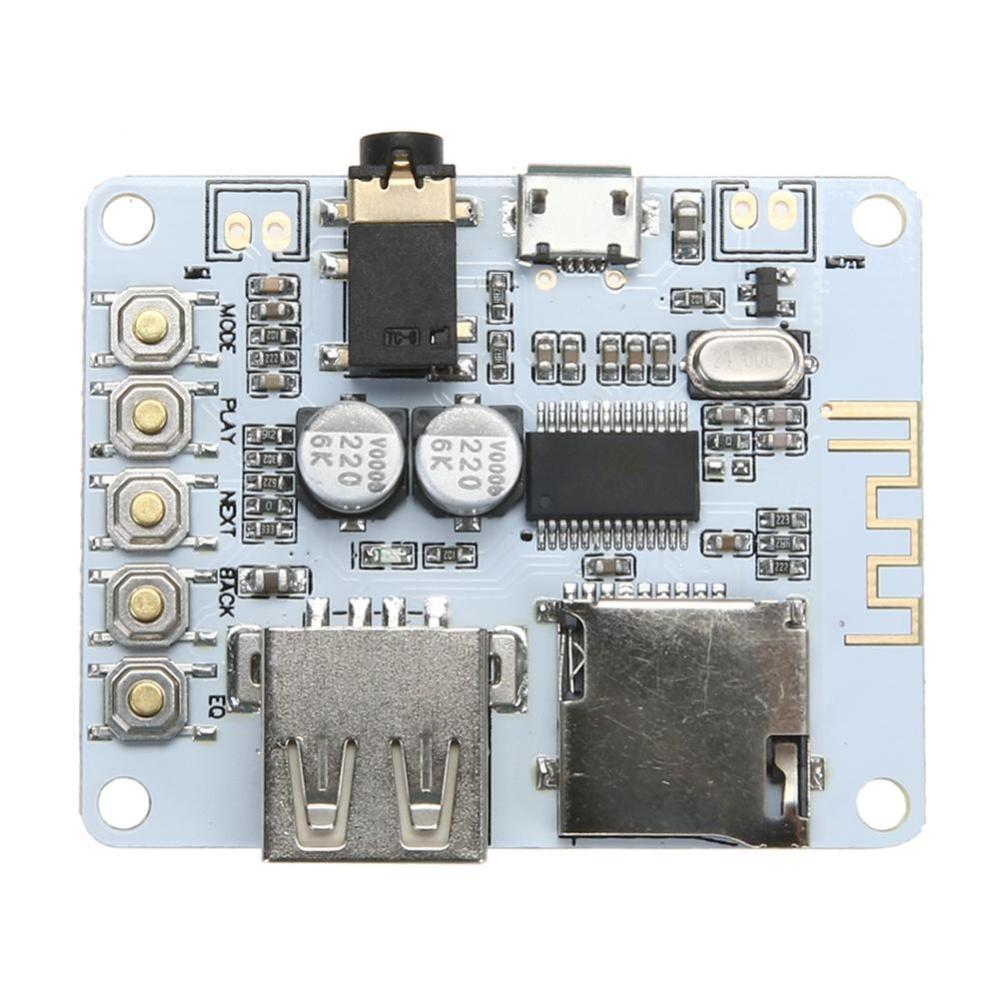 Bộ Thu Âm Thanh Bluetooth Module USB/TF/SD Thẻ Bộ Giải Mã Preamp Đầu Ra-quốc tế Đang Bán Tại lotsgoods