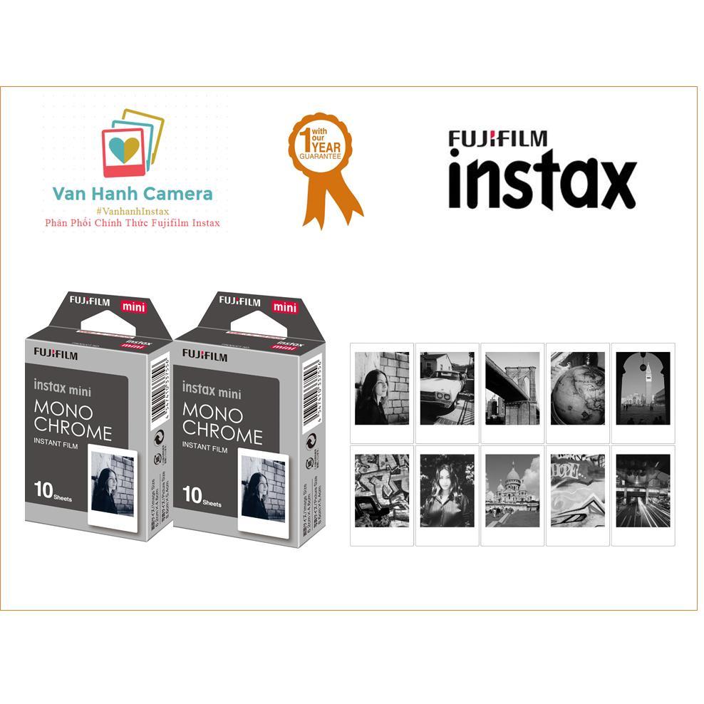 Bộ 02 hộp film frame – Instax Mini Frame Film Monochrome – Sản phẩm phân phối chính hãng