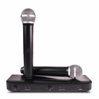 Bộ 02 micro Karaoke không dây Cawono V306