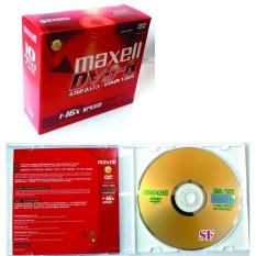Bộ 10 đĩa DVD-R Maxell có hộp
