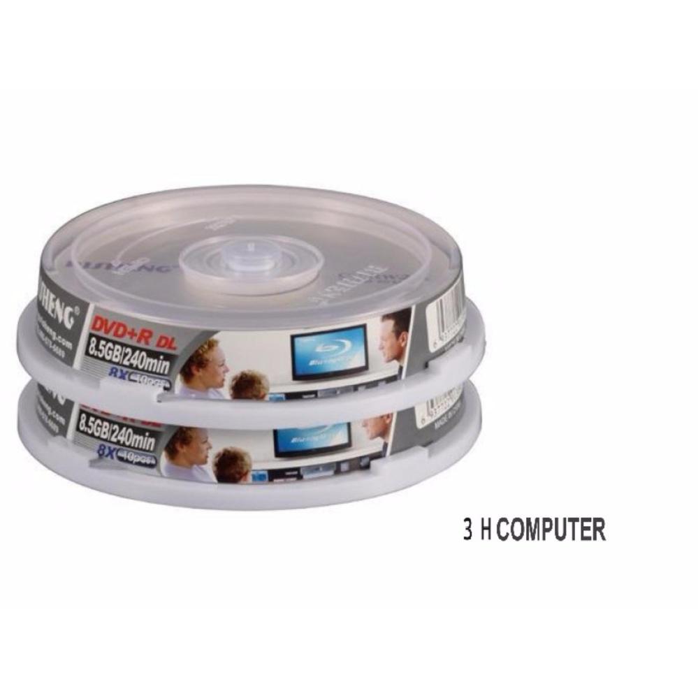BỘ 10 ĐĨA DVD TRẮNG RISHENG 8.5G DVD+R DL Đang Bán Tại 3H COMPUTER