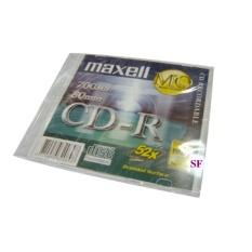 Bộ 10 đĩa trắng CD-R Maxell có vỏ