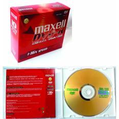 Bộ 10 đĩa trắng DVD-R Maxell 4.7GB có vỏ