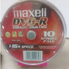 Bảng Giá Bộ 10 đĩa trắng DVD – R Maxell Tại Techmate
