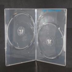 Bộ 10 Hộp đựng đĩa CD DVD Hình chữ nhật LOẠI DÀY MÀU TRẮNG(HỘP ĐỰNG 2 ĐĨA)