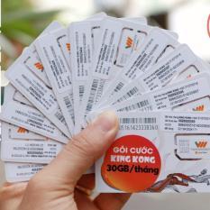 Bộ 10 sim Vietnamobile 3G có sẵn 3Gb