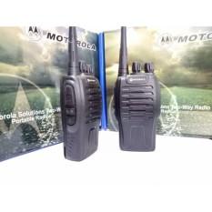 Bộ 2 Bộ Đàm Chất Lượng Cao Motorola Gp 668+Tặng 02 Tai Nghe (Đen)
