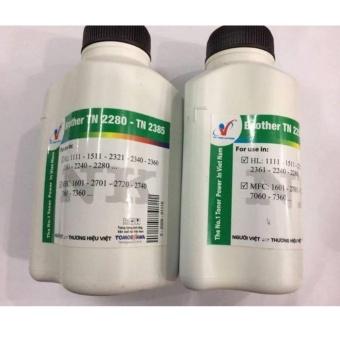 Bộ 2 chai mực đổ cho các dòng máy in Brother TN2260/2240/2270 (80g)