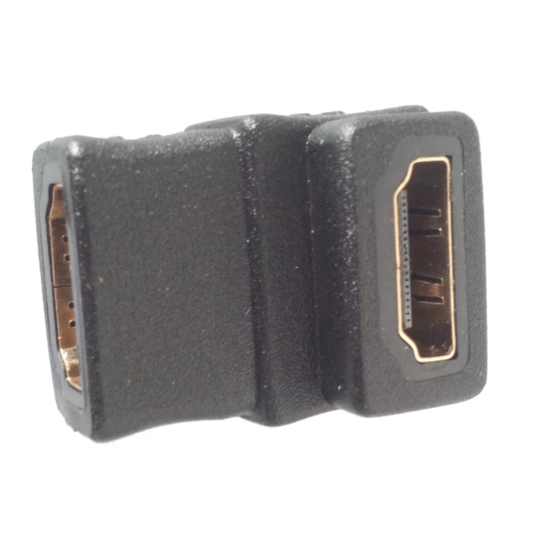 Nơi mua Bộ 2 Đầu nối HDMI đổi góc chữ L 2 đầu âm Connect Adapter (Đen)