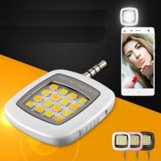 Bộ 2 Đèn 16 bóng led chụp hình, hỗ trợ ánh sáng chụp hình trên điện thoại siêu đẹp H61