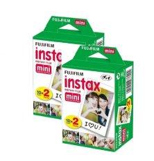 Bộ 2 hộp phim Fujifilm Instax Mini 20 tấm (Đen)
