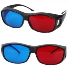 Bộ 2 kính xem phim 3D red blue SGT