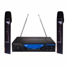 Bộ 2 Micro không dây và đầu thu SH-227 hát karaoke cực hay