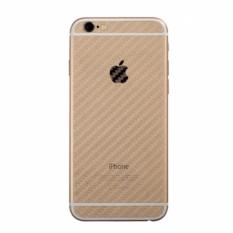 Bộ 2 miếng dán carbon mặt lưng cho iPhone 6 Plus/ 6s Plus (Trong suốt)