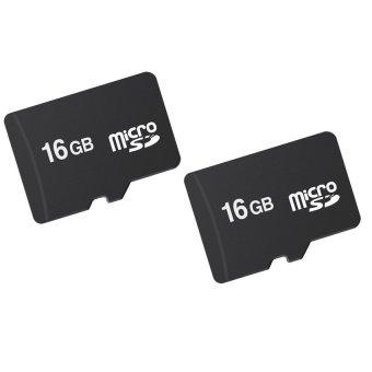 Bộ 2 thẻ nhớ MICRO Memory Card SD ACCESSORY 16GB (Đen) shopping