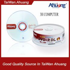 Bộ 25 đĩa trắng DVD AHUANG 8.5G DVD+R DL