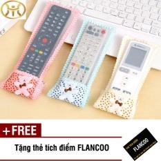 Bộ 3 túi bảo vệ điều khiển Flancoo 2251 (Xanh dương) + Tặng kèm thẻ tích điểm Flancoo