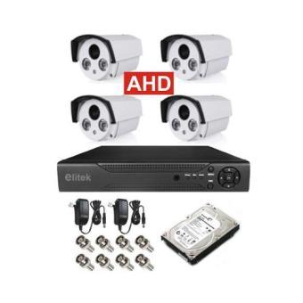 Bộ 4 Camera AHD Elitek ECA-50913(Trắng) - Đầu Ghi Elitek + Ổ cứng 160GB - 10235979 , EL529ELAA1QIYUVNAMZ-2905292 , 224_EL529ELAA1QIYUVNAMZ-2905292 , 3533846 , Bo-4-Camera-AHD-Elitek-ECA-50913Trang-Dau-Ghi-Elitek-O-cung-160GB-224_EL529ELAA1QIYUVNAMZ-2905292 , lazada.vn , Bộ 4 Camera AHD Elitek ECA-50913(Trắng) - Đầu Ghi Eli