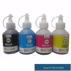 Bộ 4 màu mực dùng cho máy in phun màu CANON PIXMA IP2770