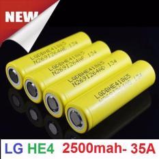 Bộ 4 pin LG HE4 18650 xả cao