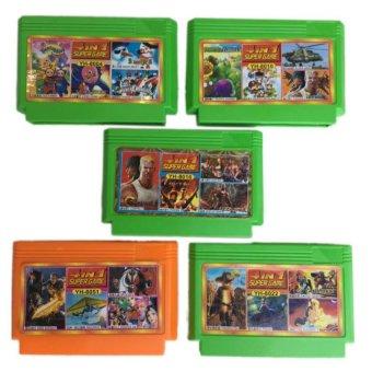 Bộ 5 băng Game số 2 - 10222576 , BR077ELAA1691LVNAMZ-1728713 , 224_BR077ELAA1691LVNAMZ-1728713 , 150000 , Bo-5-bang-Game-so-2-224_BR077ELAA1691LVNAMZ-1728713 , lazada.vn , Bộ 5 băng Game số 2