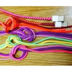 Bộ 5 dây quấn bảo vệ tai nghe, cáp sạc – Loại dây Mới (dây 3D) (màu ngẫu nhiên)