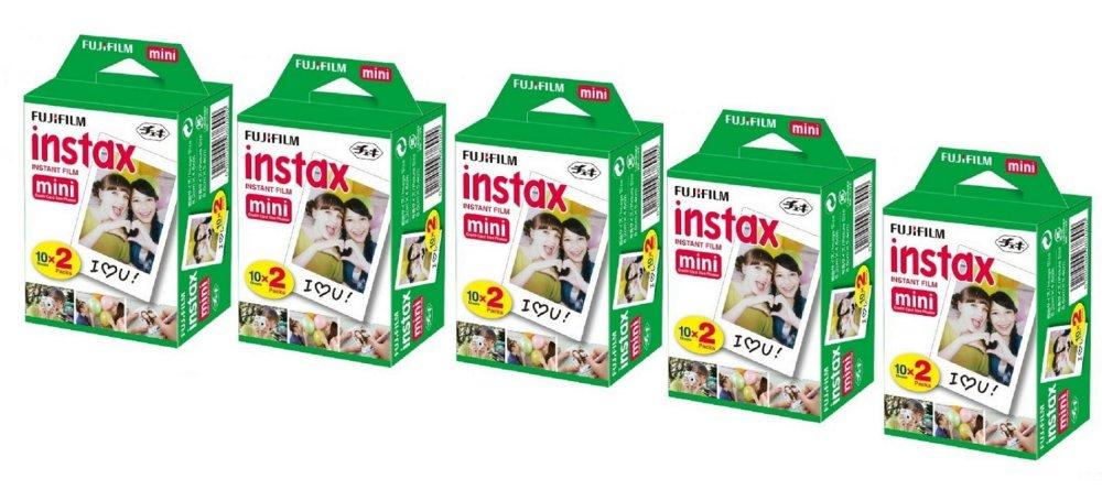 Chỗ bán Bộ 5 hộp phim Fujifilm Instax Mini 100 tấm