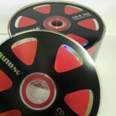 BỘ 50 CÁI ĐĨA TRẮNG CD RISHENG BÁNH XE TẶNG 1 CÂY BÚT GHI ĐĨA
