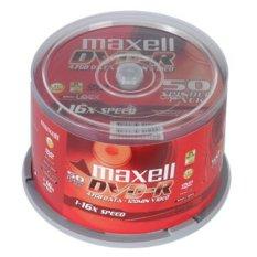 Bộ 50 đĩa DVD Trắng Maxell 4.7GB 16x