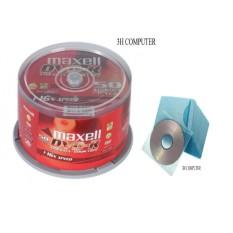 Bảng Giá Bộ 50 Đĩa trắng DVD MAXCELL tặng 100 bao đững đĩa DVD Tại 3H COMPUTER