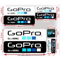 Bộ 9 Miếng dán Logo Gopro