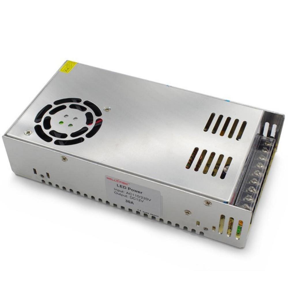 Đánh giá Bộ adapter đổi nguồn 220v sang 12V-30A tổ ong (DC) Tại ECL&MPO