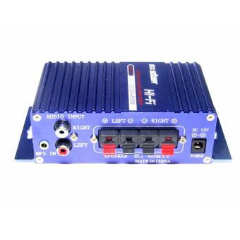 Bộ âm ly khuếch đại âm thanh SON-7227 - Vỏ nhôm 12V - Load 2Ω-16Ω Cao Cấp