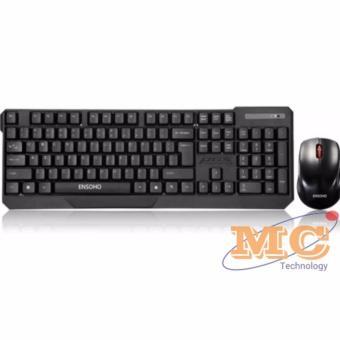 Bộ bàn phím chuột không dây Ensoho E-113CB