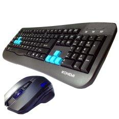 Bộ bàn phím + chuột USB Gaming IKONEMI G216