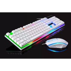 Bộ bàn phím kèm chuột máy tính G21 Con Báo có LED 7 màu ấn tượng