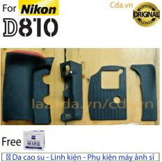 Bộ Cao su Nikon D810 Hàng Zin ( 4 miếng )