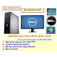 Giảm giá Bộ Cây Máy Tính Đồng Bộ Dell 780 , Màn hình Dell 18.5 LED