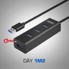 Bộ chia 4 cổng HUB USB 3.0 4 Port Unitek Y-3089 1.2m
