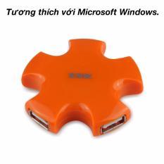 Bộ chia 4 cổng USB 2.0 SSK (màu cam)