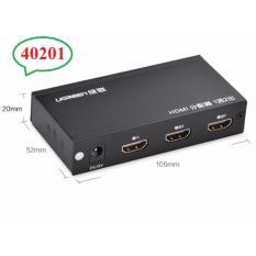 Địa Chỉ Bán Bộ chia HDMI 1 ra 2 hỗ trợ 3D cao cấp Ugreen 40201