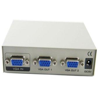 Bộ chia màn hình Viki MT-2150 2 port VGA Splitter (Trắng)