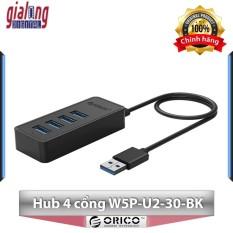 Bộ chia USB Hub 4 cổng USB 2.0 W5P-U2-30-BK – Hàng phân phối chính hãng