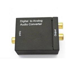 Bộ chuyển âm thanh ngõ ra TV 4K optical to audio AV ra amply Gia Bách
