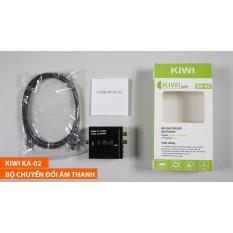 Bộ chuyển âm thanh quang học cho tivi quang optical sang audio AV ra amply KA-02